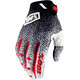 100% Ridefit Gloves black/white